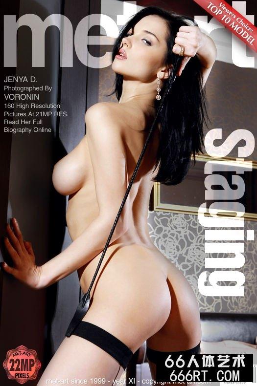 美得让人心颤的嫩模Jenya薄丝人体-1